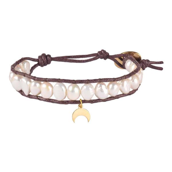 دستبند طلا 18 عیار زنانه درگون جولری مدل WO7