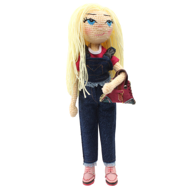 عروسک بافتنی پریا مدل Darya01