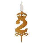 شمع تولد طرح عدد 2 thumb