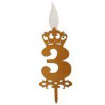 شمع تولد طرح عدد 3