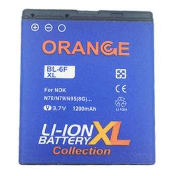 باتری موبایل مدل BP-6F ظرفیت 1200 میلی آمپر ساعت مناسب برای گوشی موبایل نوکیا N78