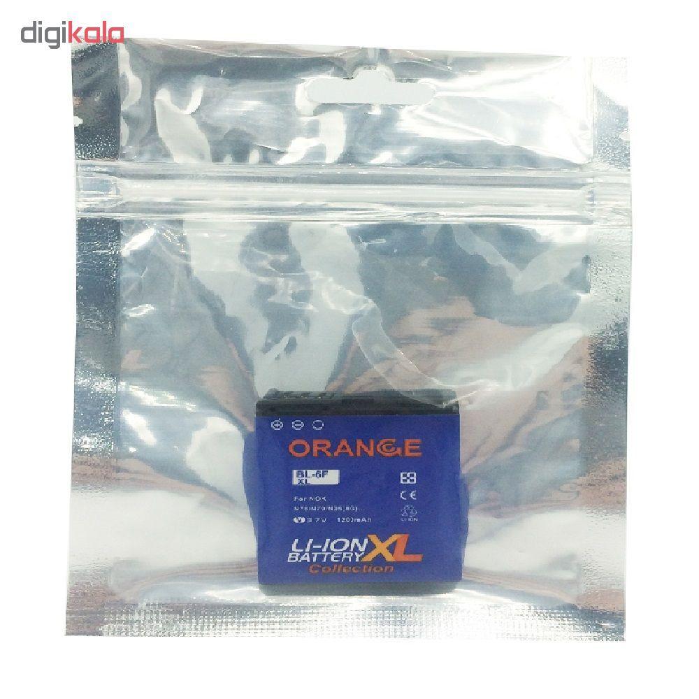 باتری موبایل مدل BP-6F ظرفیت 1200 میلی آمپر ساعت مناسب برای گوشی موبایل نوکیا N78 main 1 4