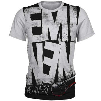 تی شرت آستین کوتاه مردانه طرح امینم مدل AL4