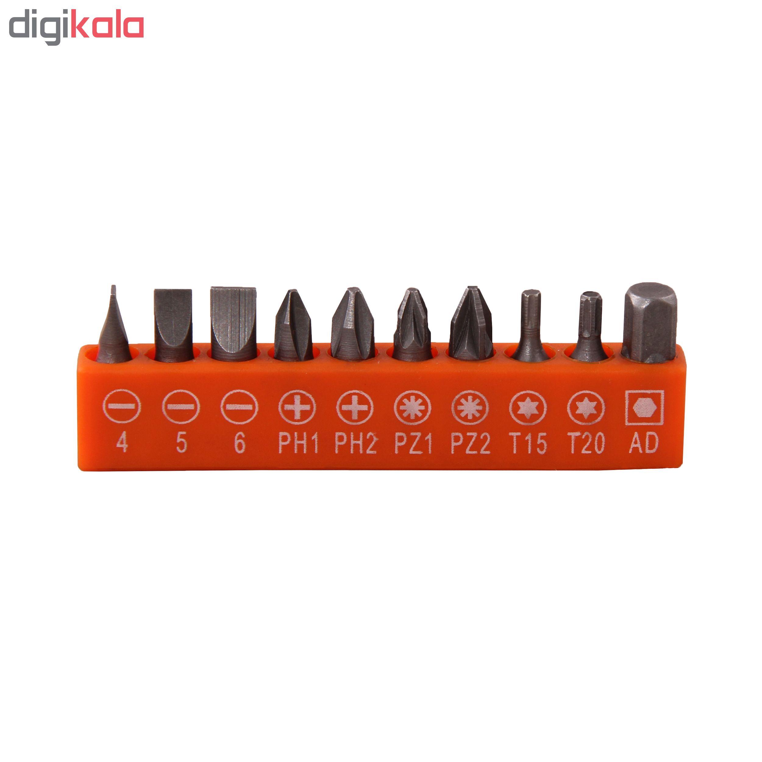 مجموعه 40 عددی جعبه ابزار مدل PT100