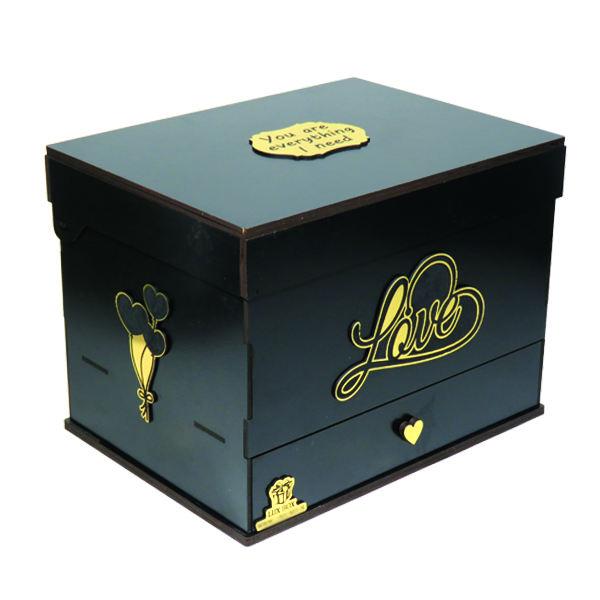 جعبه هدیه لوکس باکس مدل عشق کد LB260