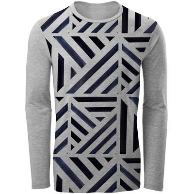 تی شرت آستین بلند مردانه مدل Spring مدل ALB1
