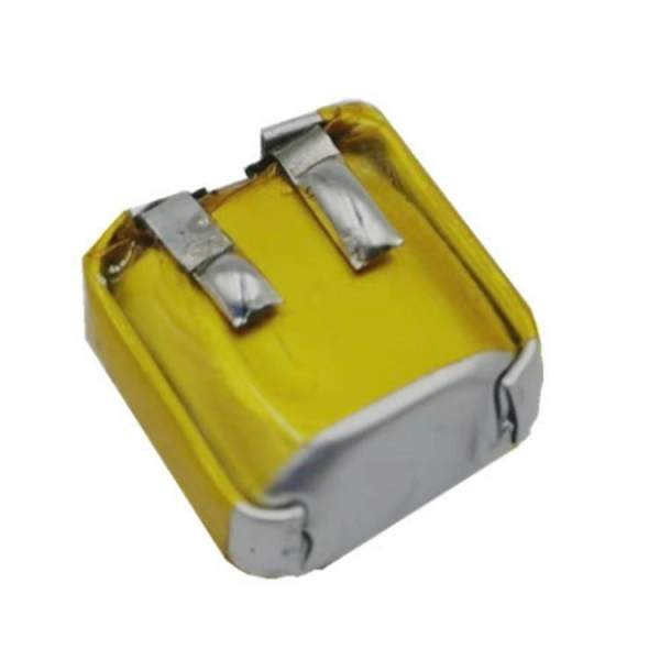 باتری لیتیوم-یون قابل شارژ کد ICR-6671 ظرفیت 40 میلی آمپرساعت مناسب برای هندزفری بلوتوث i12 tws