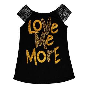 تاپ زنانه طرح Love Me More کد 007
