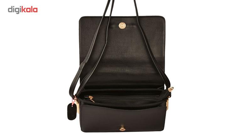 کیف دوشی  زنانه پارینه چرم مدل PlV6