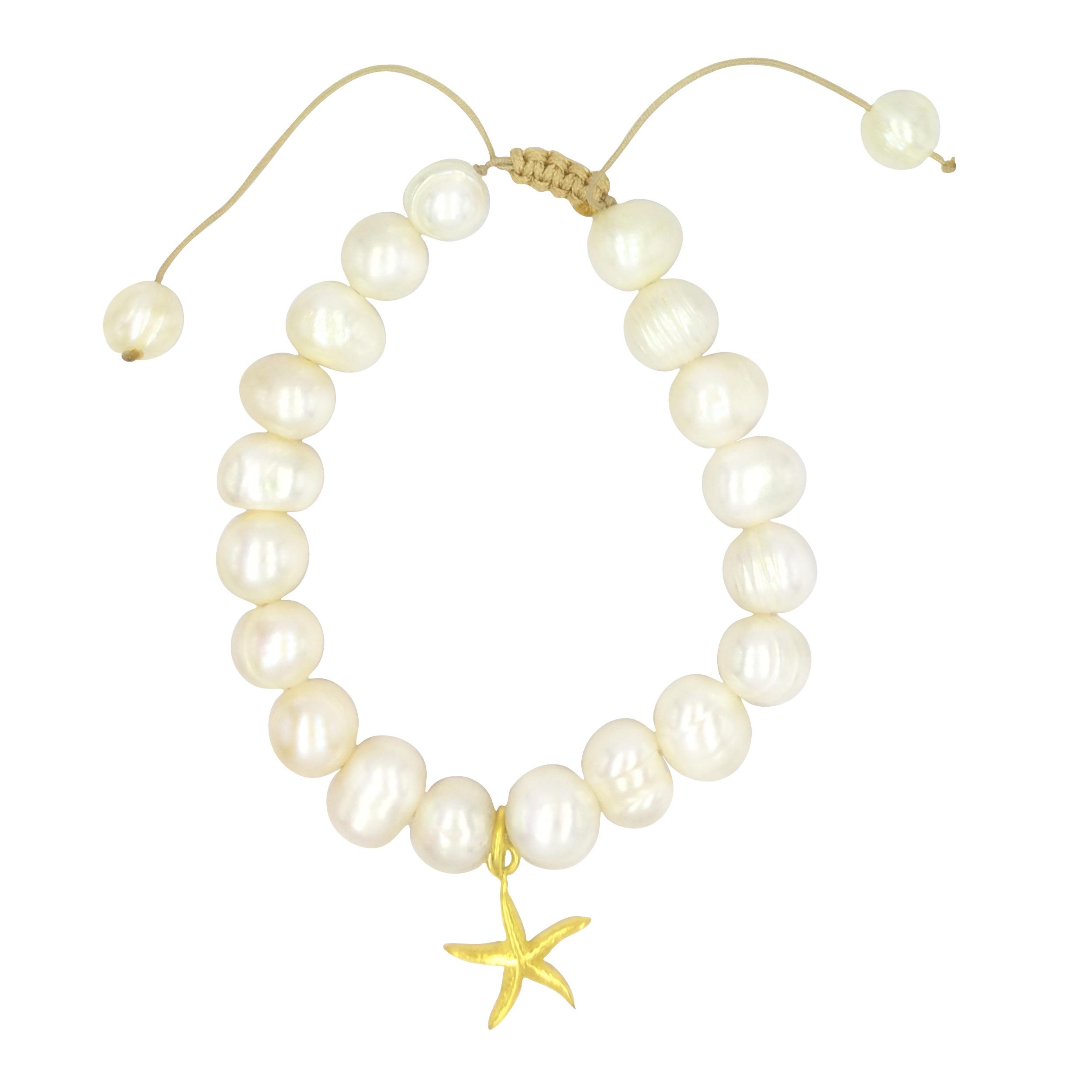 دستبند طلا 18 عیار زنانه الماسین آذر طرح ستاره کد 01