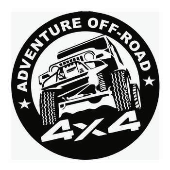 برچسب بدنه خودرو طرح Adventure کد b01