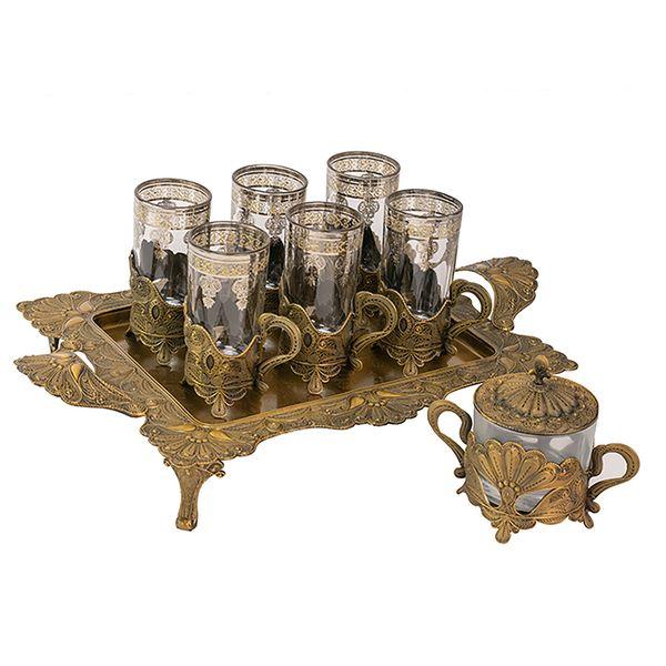 سرویس چای خوری 8 پارچه سلوین مدل 18492