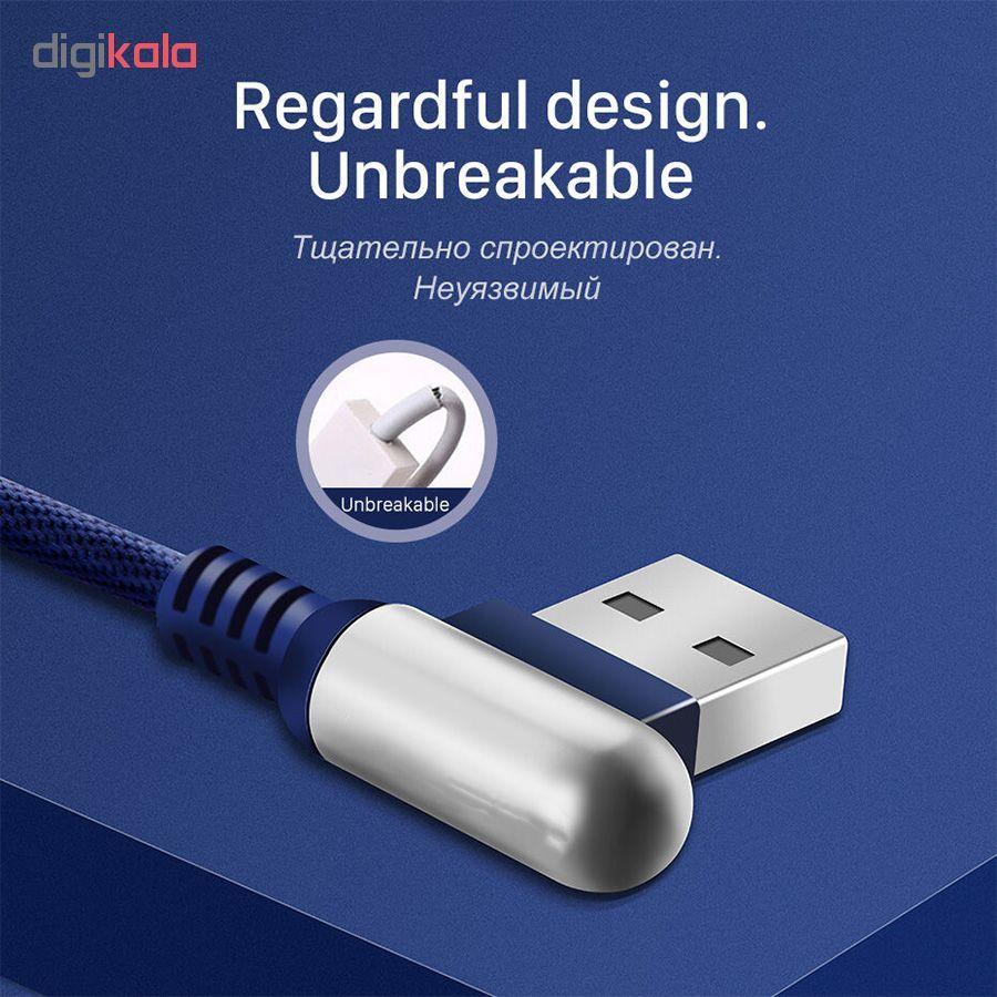 کابل تبدیل USB به لایتنینگ/USB-C/microUSB وایکینگز مدل aio-100 طول 1.2 متر main 1 16