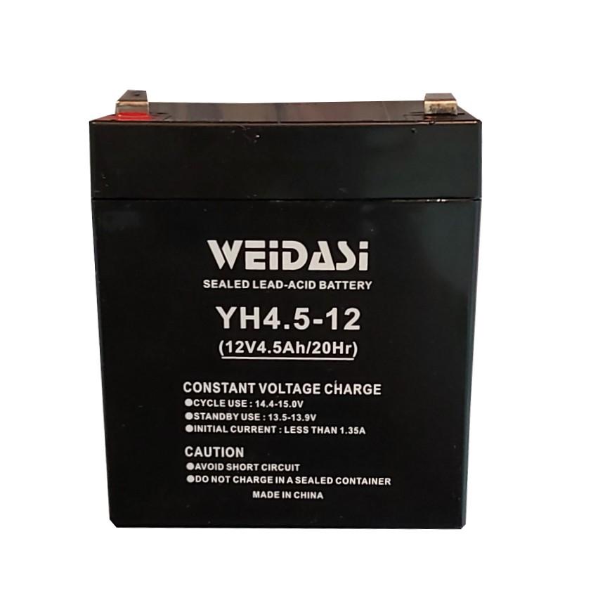 باتری یو پی اس 12 ولت 4.5 آمپر ویداسی مدل YH