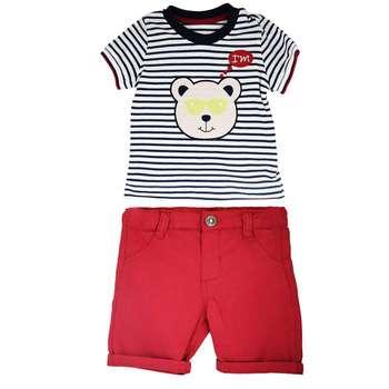ست تی شرت و شلوارک نوزادی مدل L8836GH