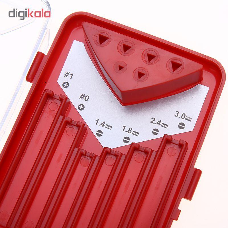 مجموعه 6 عددی پیچ گوشتی ساعتی پروسکیت مدل SD-9815