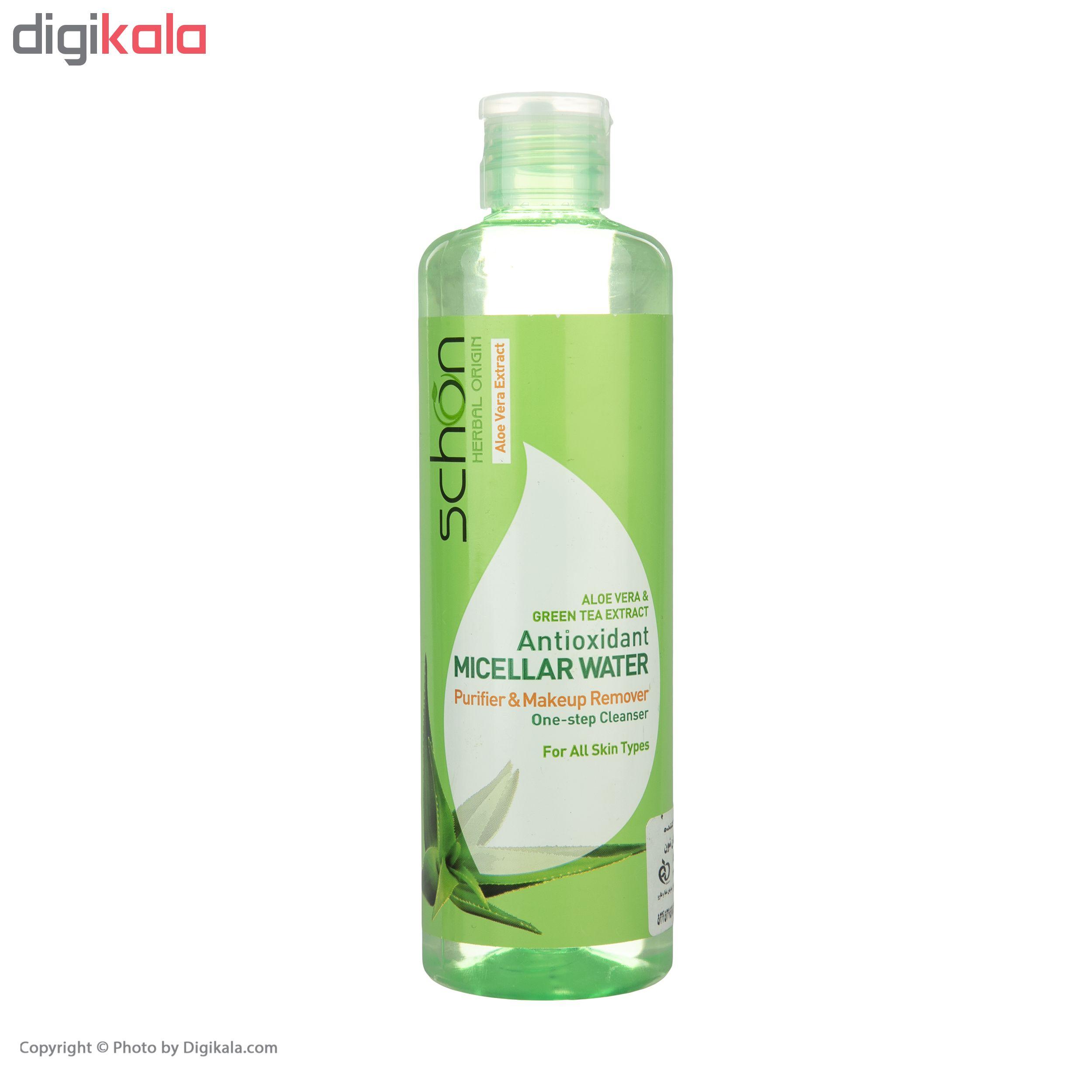 محلول پاک کننده شون مدل Antioxidant Micellar Water حجم 300 میلیلیتر