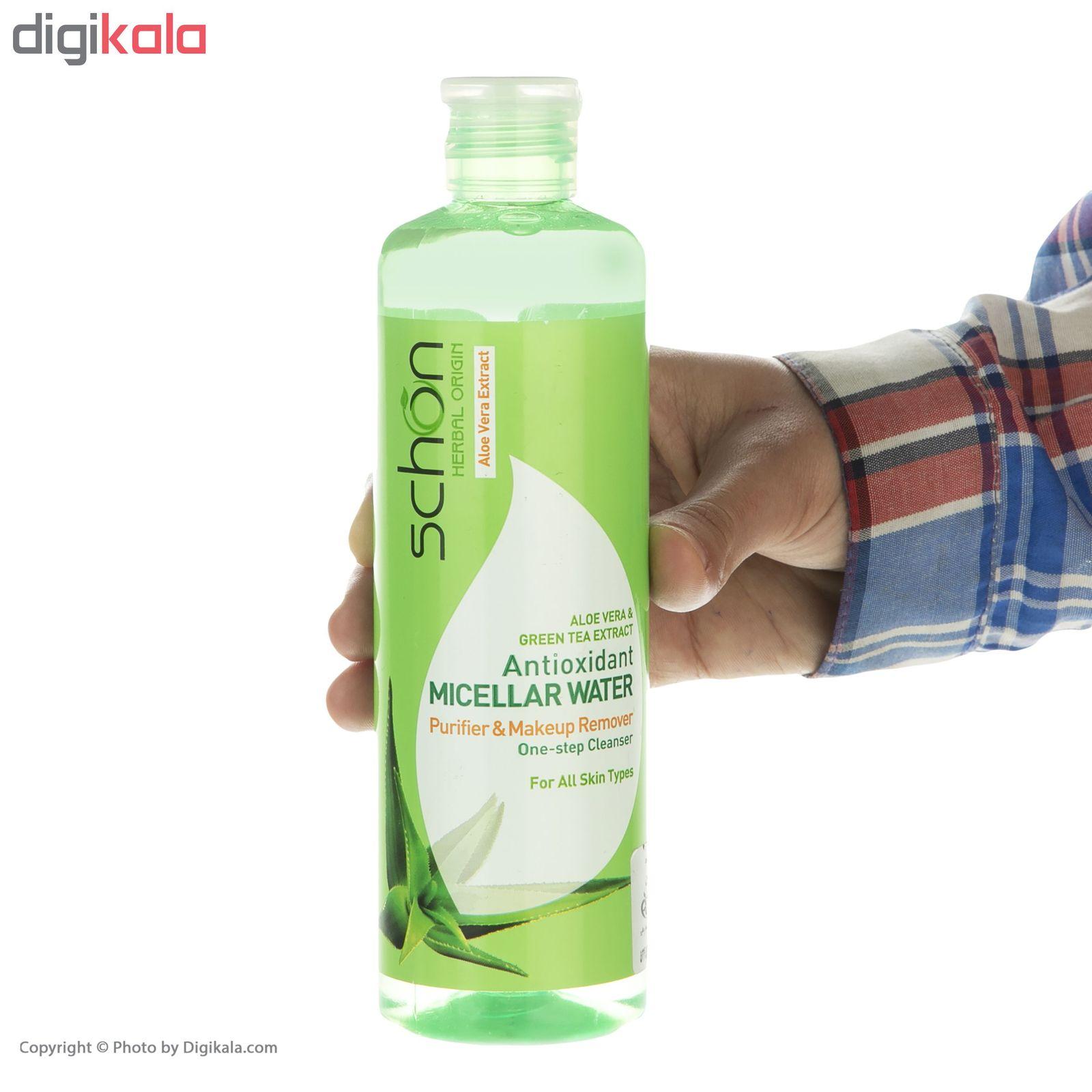 محلول پاک کننده شون مدل Antioxidant Micellar Water حجم 300 میلیلیتر main 1 4
