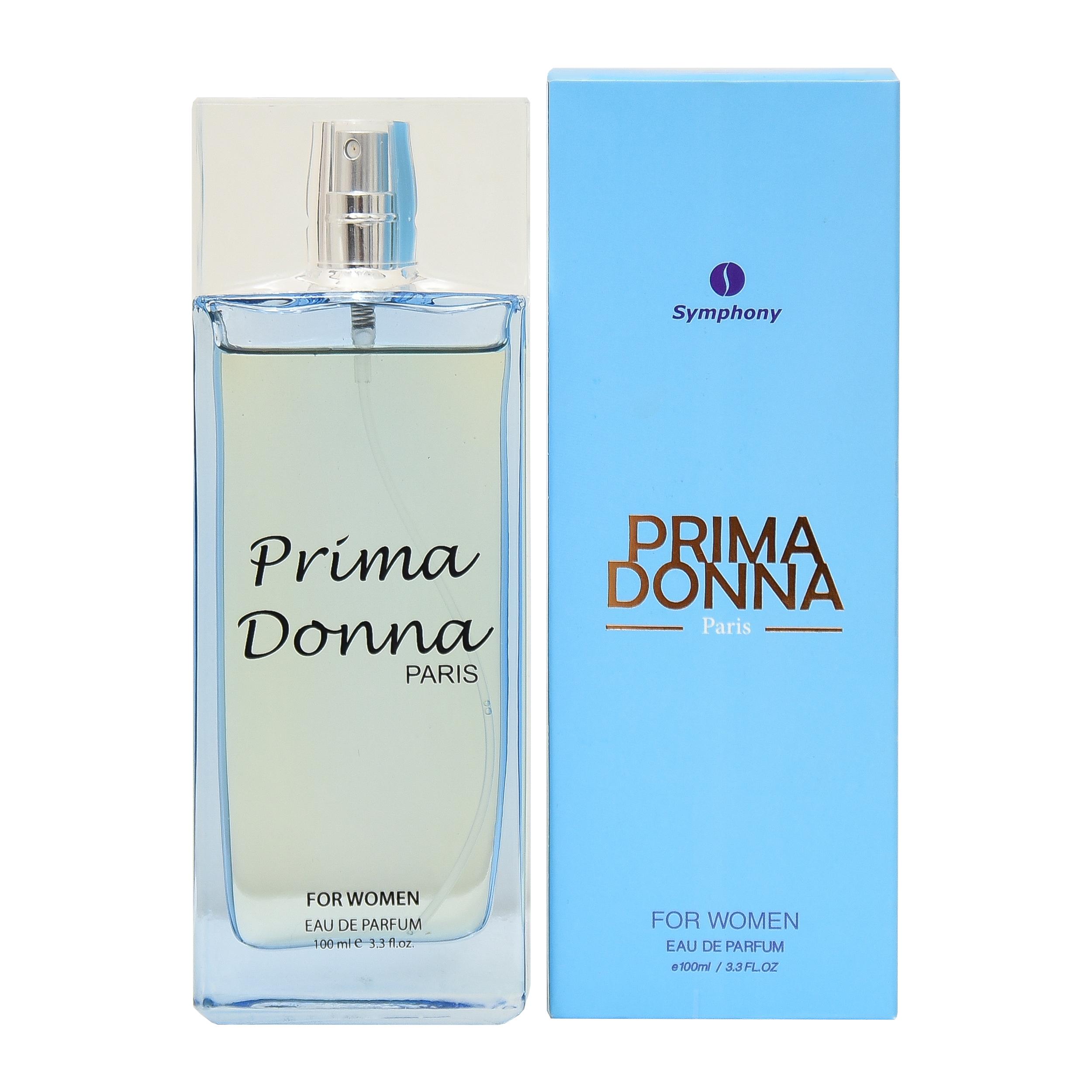 خرید اینترنتی ادو تویلت زنانه سیمفونی مدل Prima Donna حجم 100 میلی لیتر اورجینال
