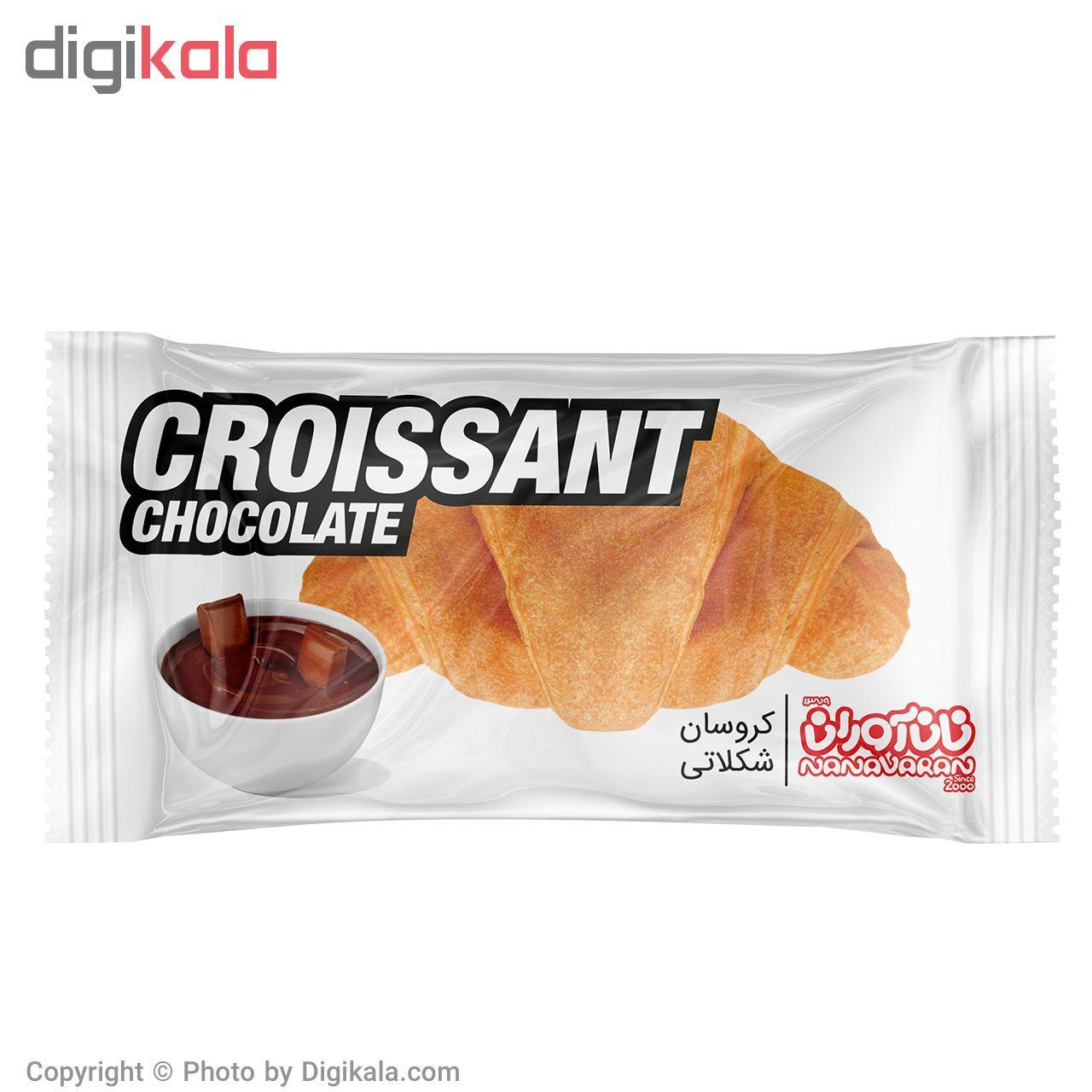 کروسان شکلاتی نان آوران مقدار 60 گرم main 1 2