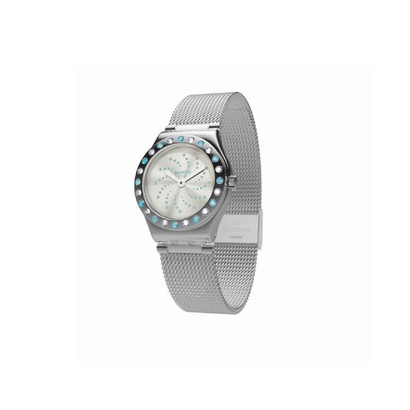 ساعت مچی عقربه ای زنانه سواچ مدل yss320M