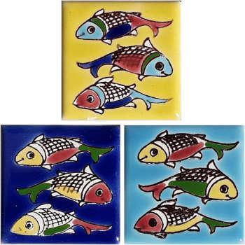 مگنت طرح ماهی کد 0048بسته 3 عددی