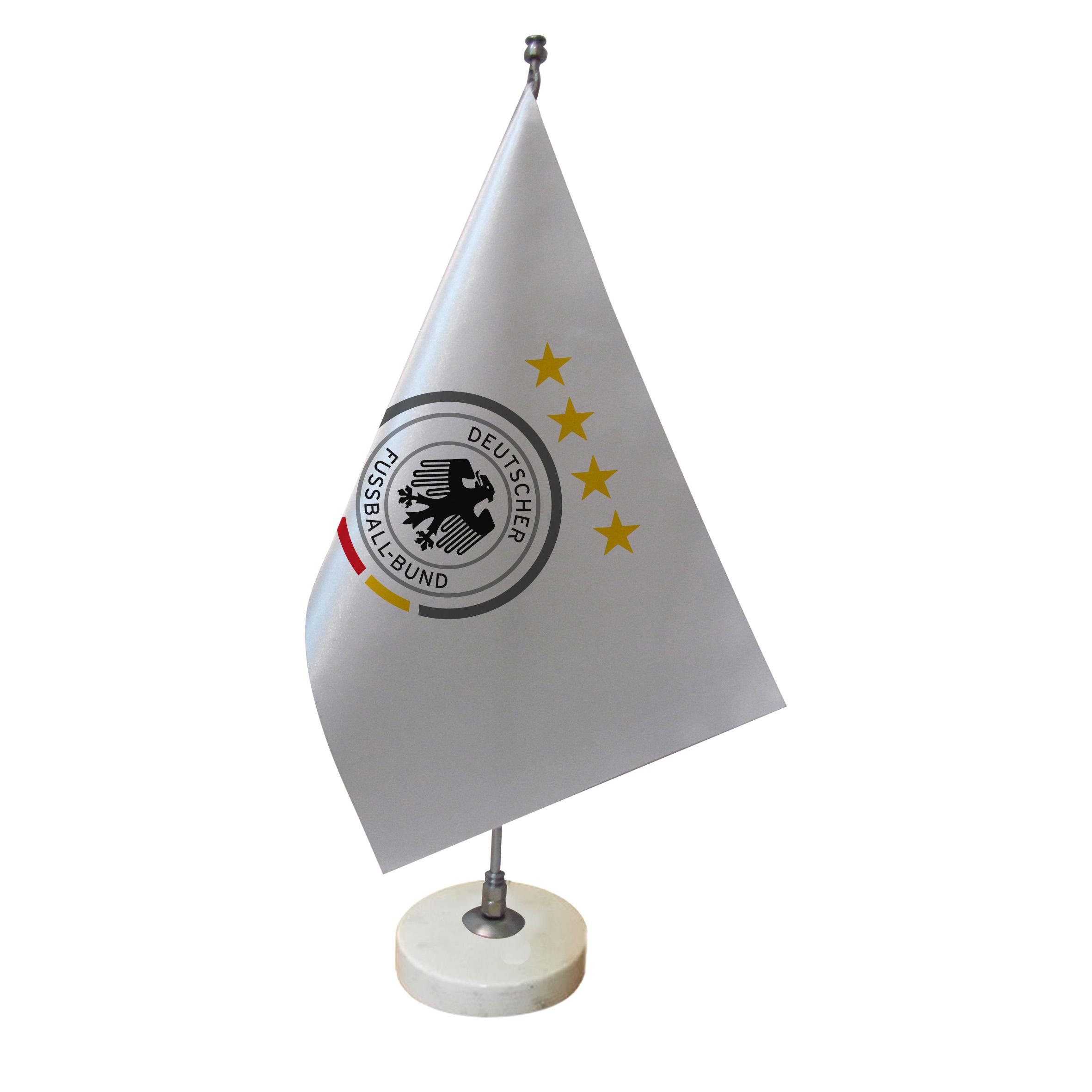 خرید                      پرچم رومیزی طرح  تیم ملی فوتبال آلمان کد pr40