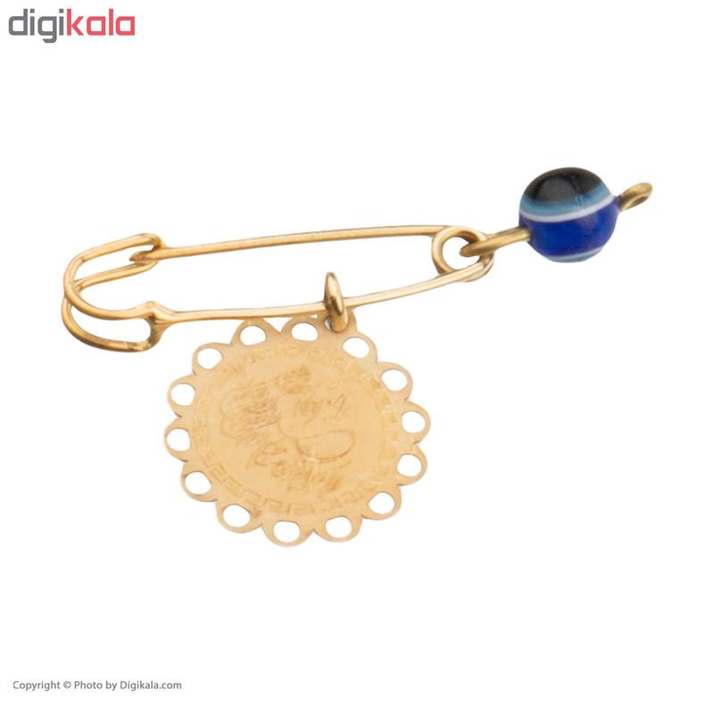 سنجاق سینه طلا 18 عیار زنانه کانیار گالری کد SAN1