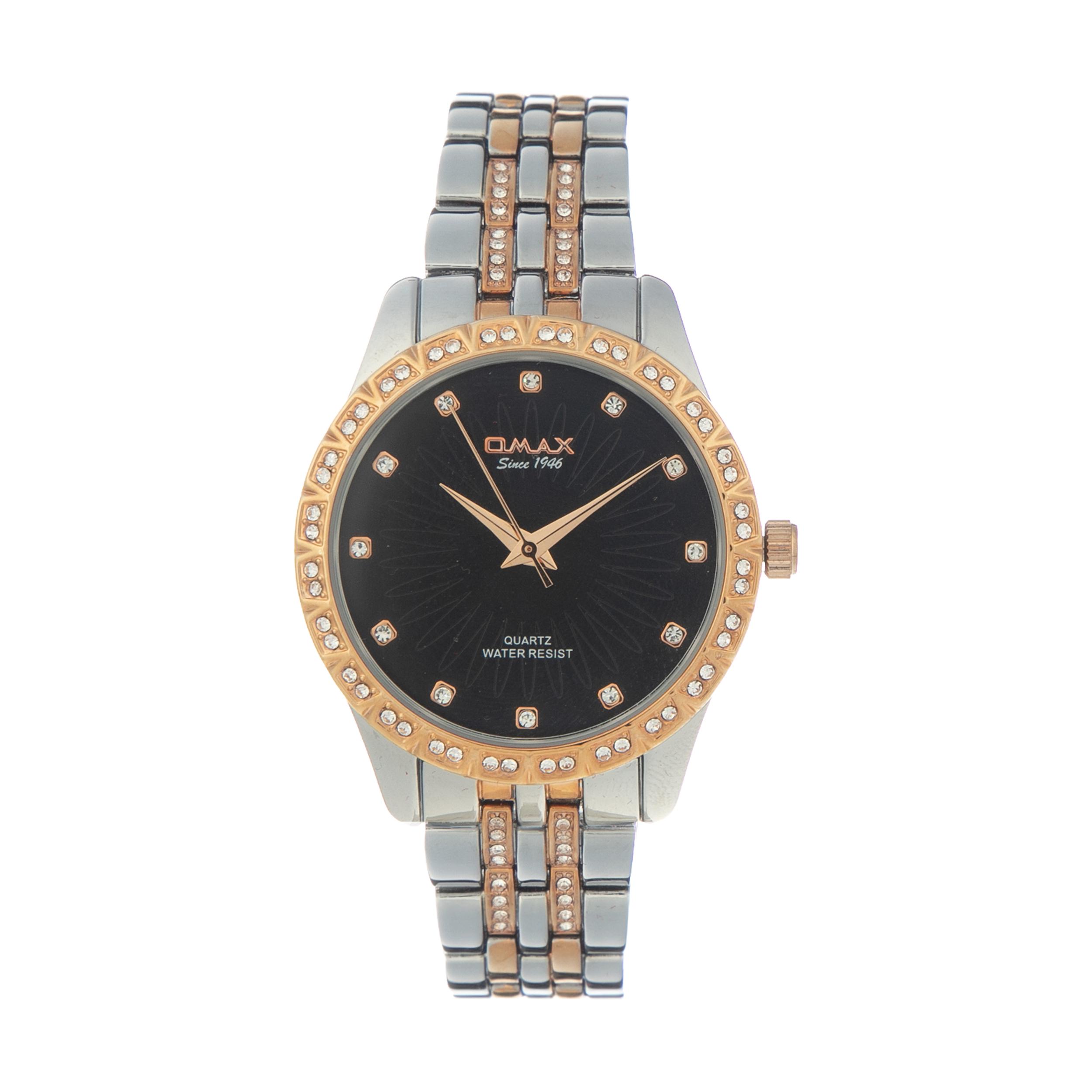 ساعت مچی عقربه ای زنانه اومکس مدل JDP010 کد 18
