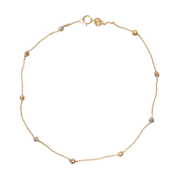 پابند طلا 18 عیار زنانه کانیار گالری کد P112
