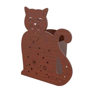 جامدادی رومیزی طرح گربه کد NOA_06_041