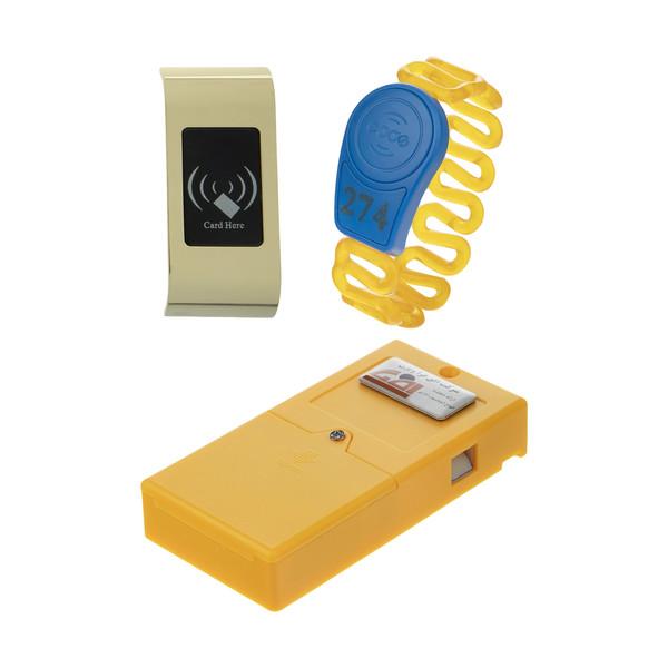 قفل کمد باشگاهی افق فرا ویژن کد 064