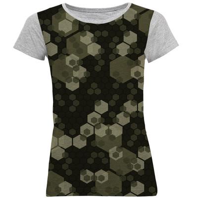 تصویر تی شرت آستین کوتاه زنانه کد B03