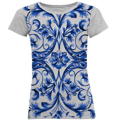 تی شرت آستین کوتاه زنانه کد B04