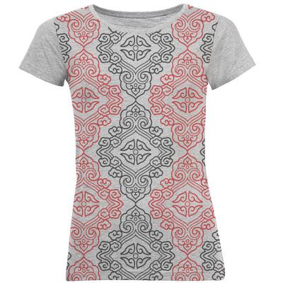 تصویر تی شرت آستین کوتاه زنانه کد B07