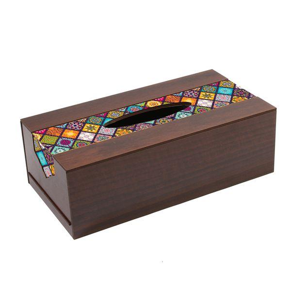جعبه دستمال کاغذی تهران جی اف ایکس مدل D156