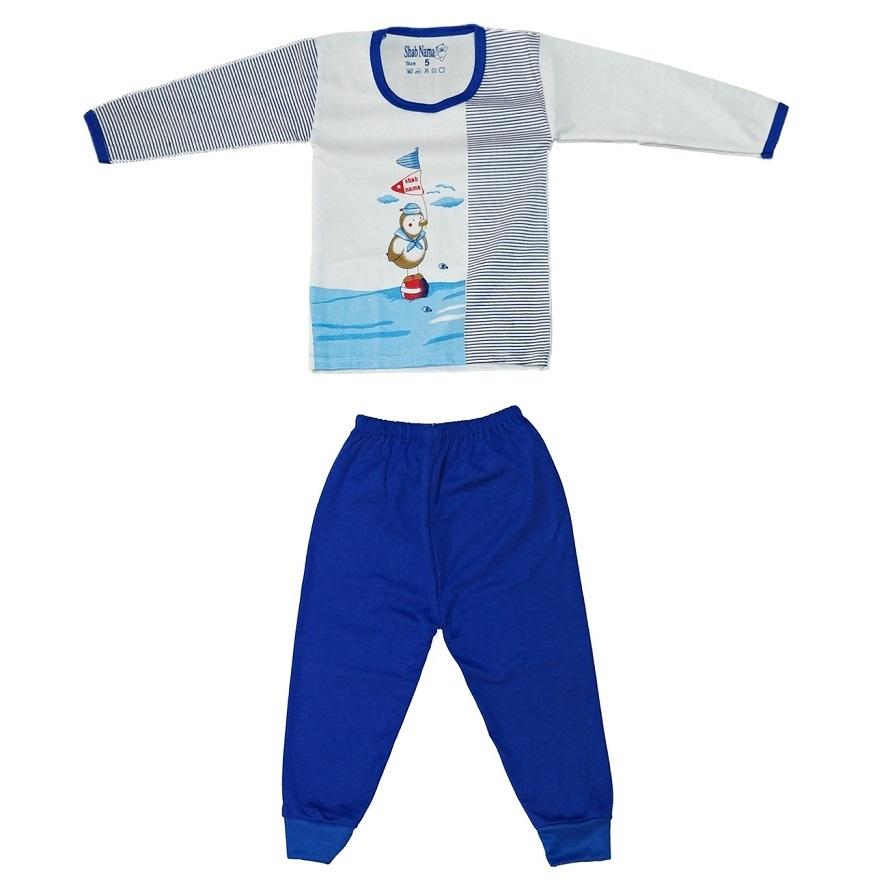 ست تی شرت و شلوار نوزادی کد 23009