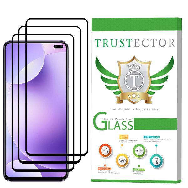 محافظ صفحه نمایش تراستکتور مدل GSS مناسب برای گوشی موبایل شیائومی Redmi K30 بسته 3 عددی