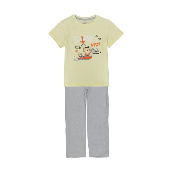 ست تی شرت و شلوار راحتی دخترانه ناربن مدل 1521178-11