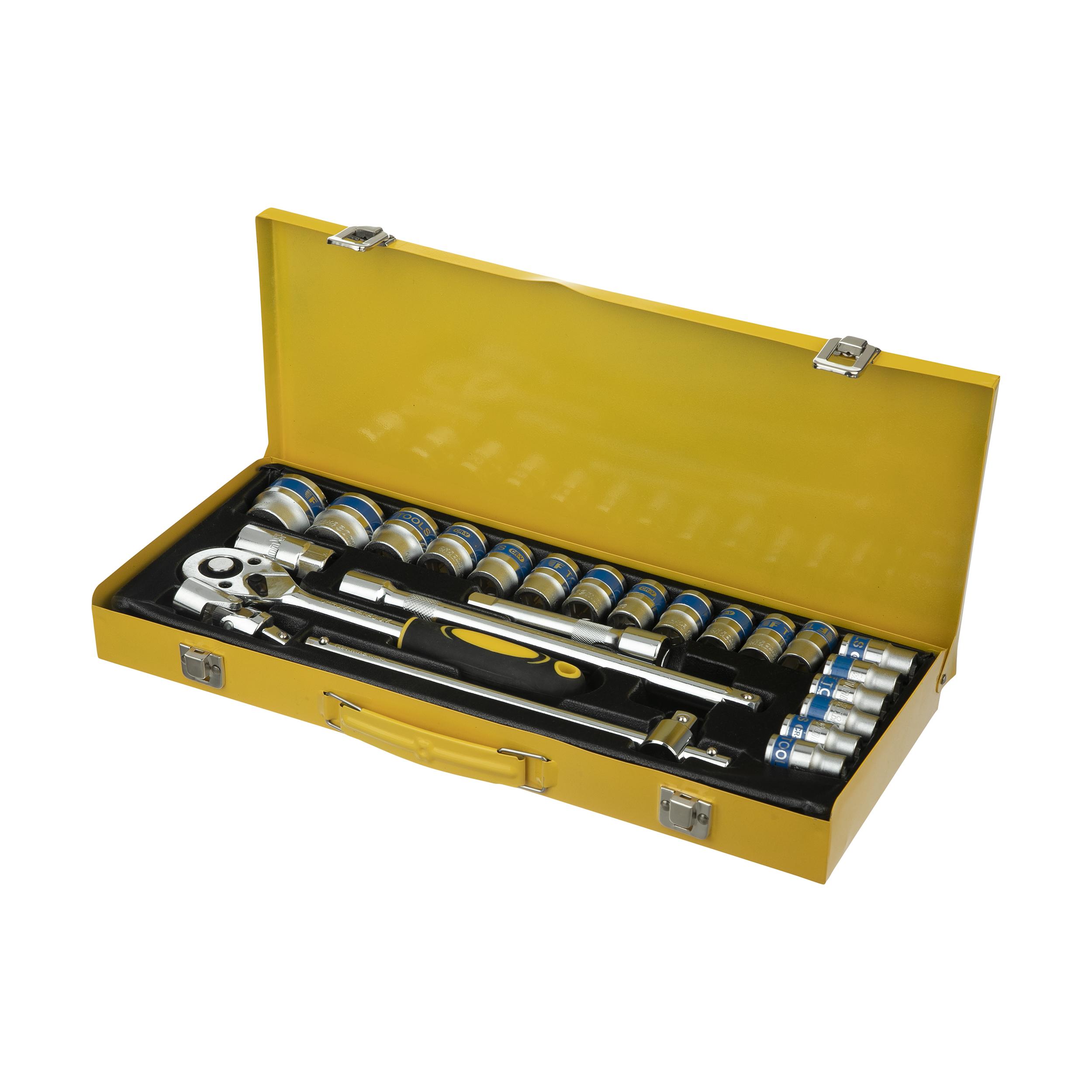 مجموعه 24 عددی آچار بکس مدل SS-12241