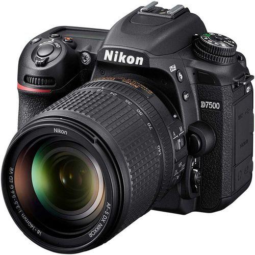 دوربین دیجیتال نیکون مدل D7500 به همراه لنز 18-140 میلی متر VR AF-S DX