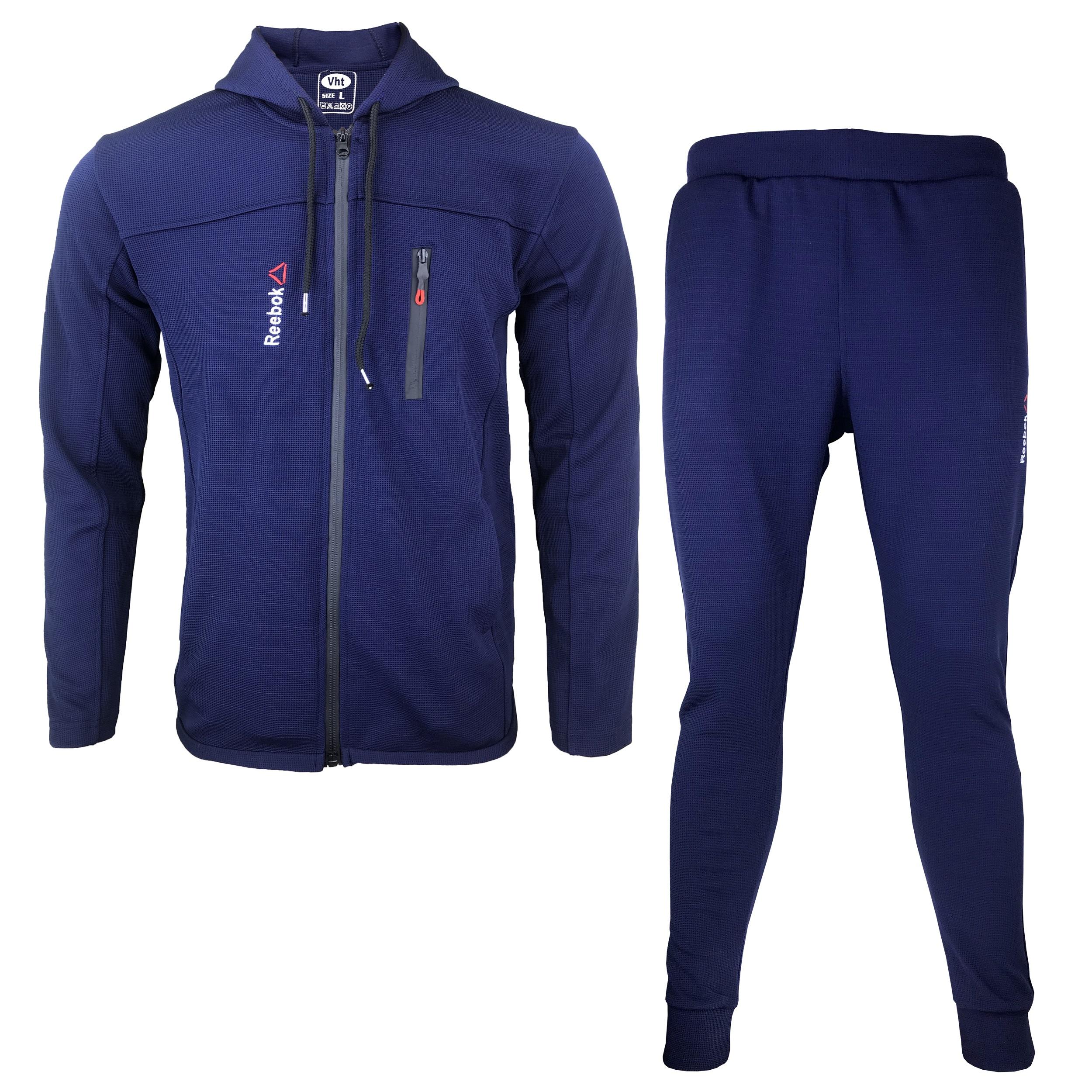 ست گرمکن و شلوار ورزشی مردانه مدل R-BU01 غیر اصل