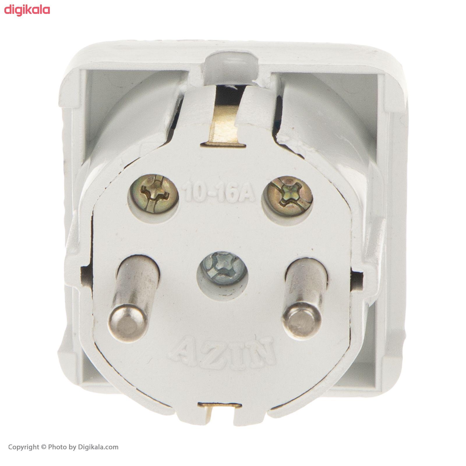دوشاخه برق آذین مدل MR01 main 1 3
