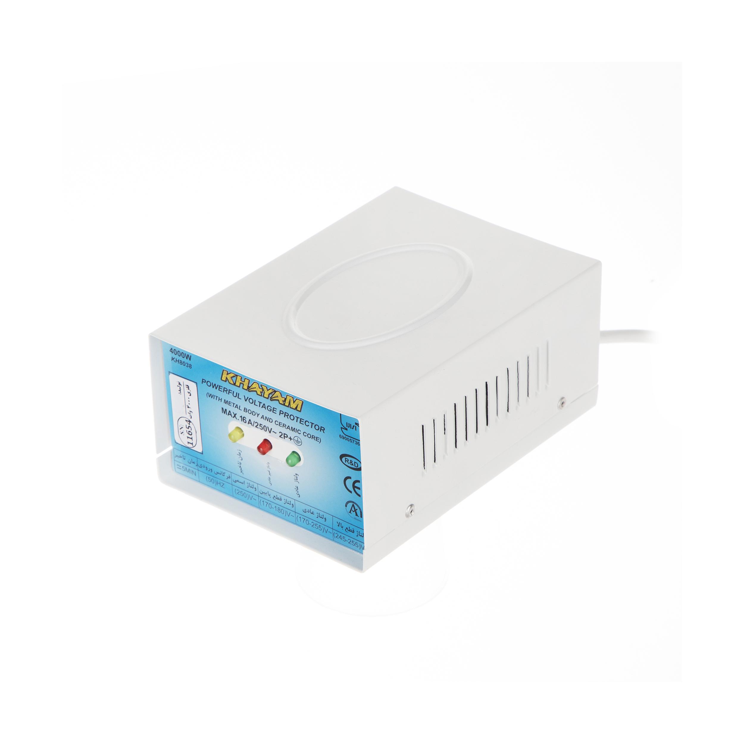 محافظ ولتاژ خیام الکتریک مدل KH8038
