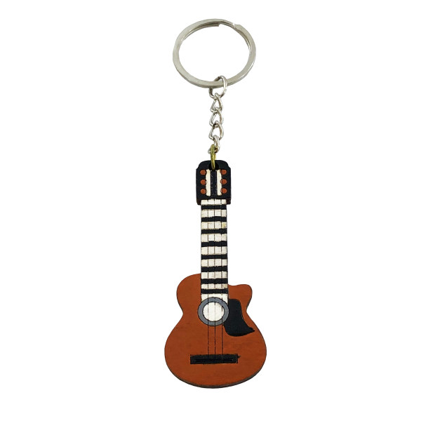 جاکلیدی گالری عزیزی طرح گیتار مدل GZ98495
