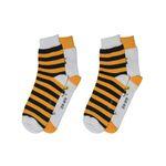 جوراب زنانه پاآرا طرح زنبور بسته 2 عددی thumb