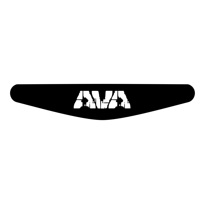 برچسب لایت بار دسته پلی استیشن 4 ونسونی طرح AVA