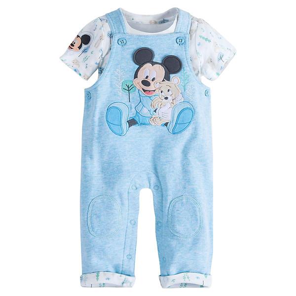 ست بادی و سرهمی نوزادی دیزنی مدل Mickey کد M157