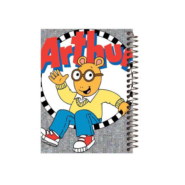 دفتر یادداشت مجنتا طرح Arthur کد 61