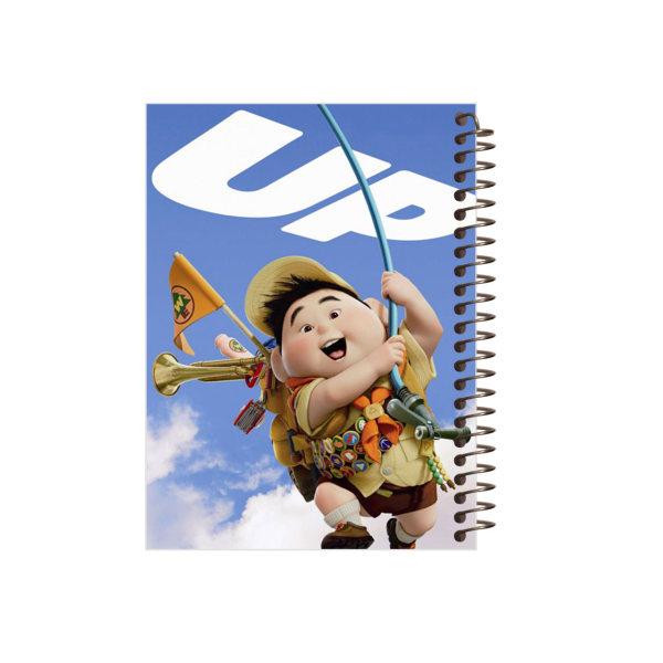 دفتر یادداشت مجنتا طرح Up کد 60